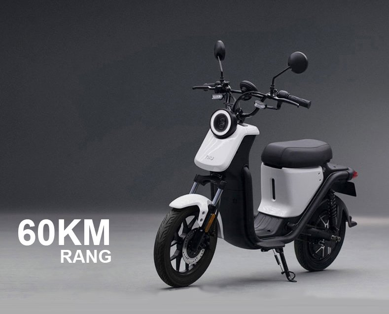 Electric battery powered moped ride on scooter