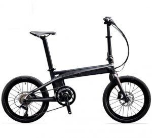 Carbon fibre folding electric eBike for sale buy now