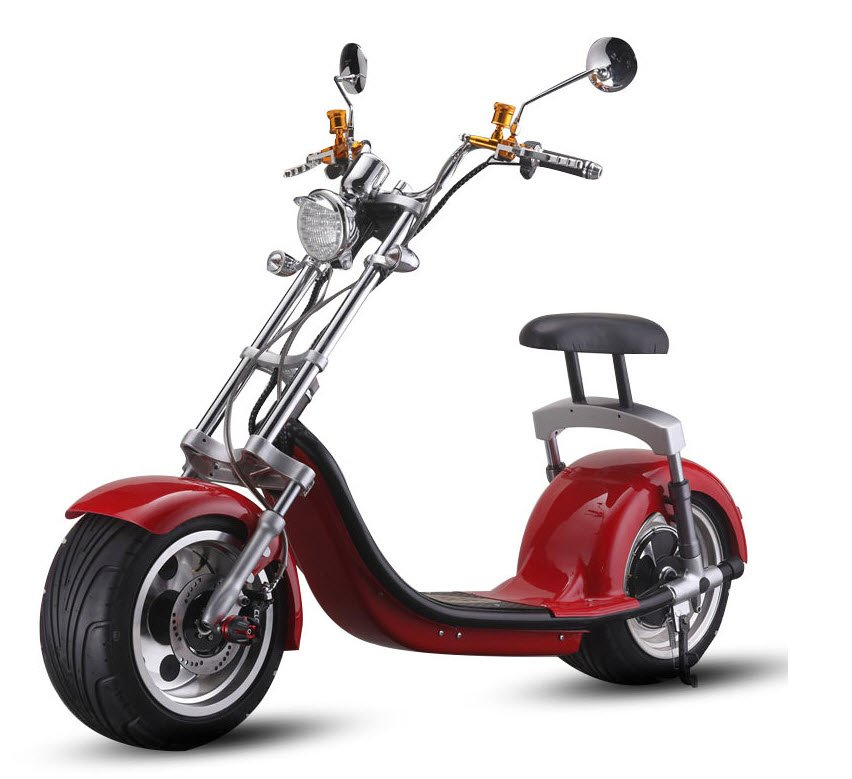 Fat Tyre Sit on Electric Scooter | Electric Transport Direct