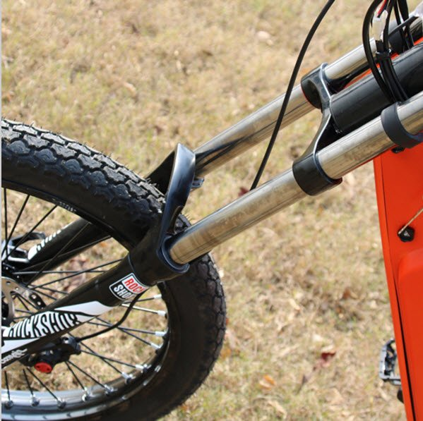 front view Battery powered electric mountain bike scooter e-bike for sale