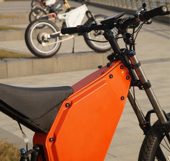 Battery powered mountain bike