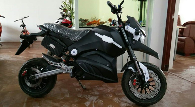 Black 72 Volt 1500 watt ride on battery powered electric motorcycle for sale buy UK online bikes
