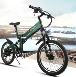 Folding electric mountain bicycle for sale online