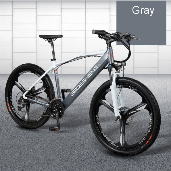 "26"" inch Smart Electric Mountain Bicycle e-Bike 