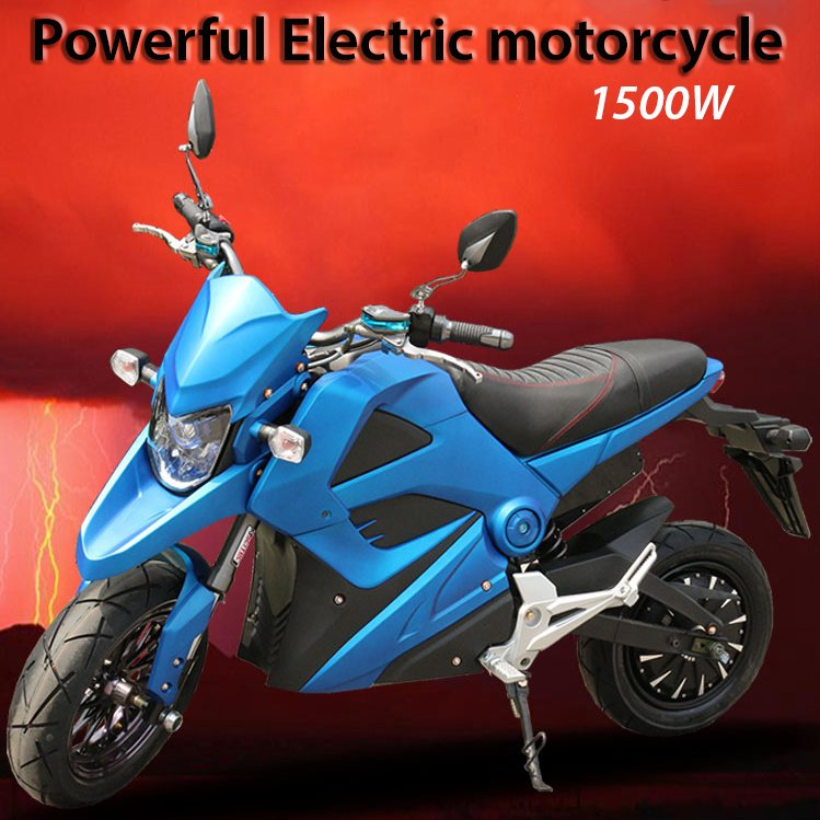 Buy the best 72 Volt 1500 watt ride on battery powered electric motorcycle for sale buy UK online bikes