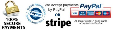 Pay securely via our website
